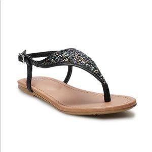 SO Girls Skies Sandals